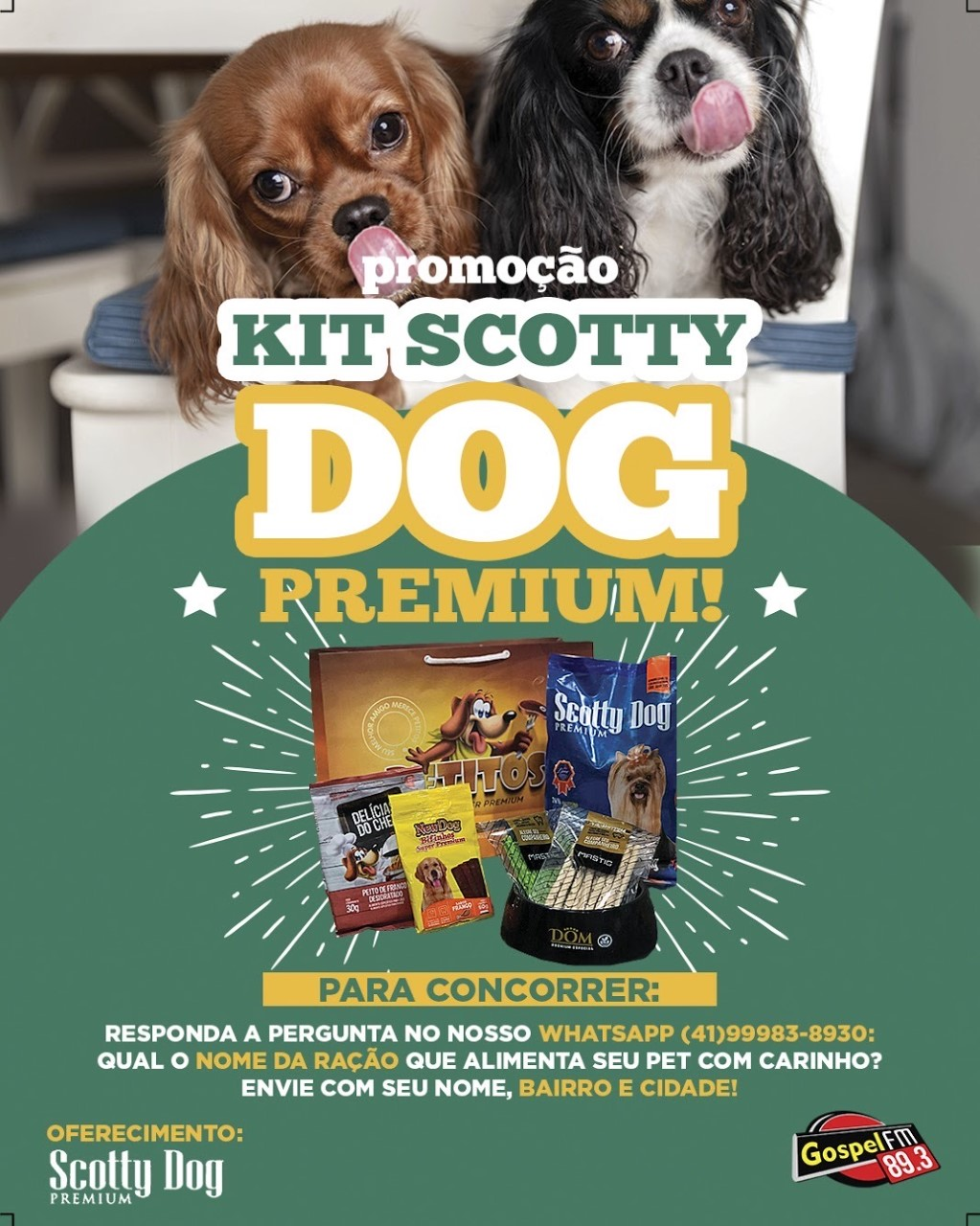 KIT PET SCOTTY DOG PREMIUM