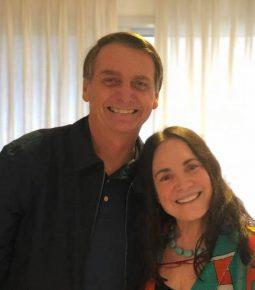 Bolsonaro tem agenda no Rio, com foco em Regina Duarte