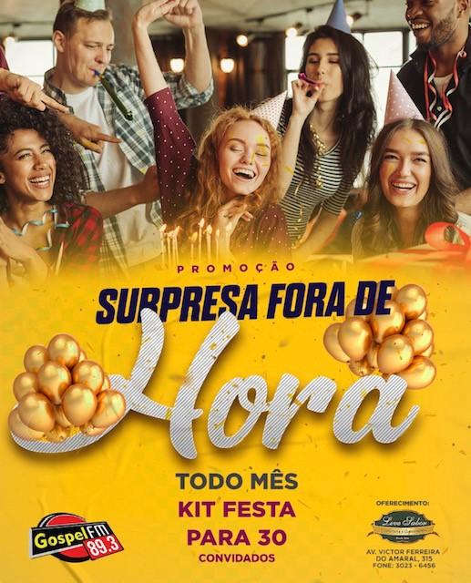SURPRESA FORA DE HORA