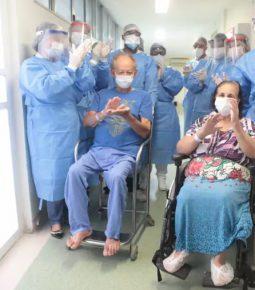 Brasil se aproxima de 550 mil curados do novo coronavírus