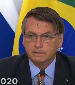 Em discurso na Cúpula do BRICS, Bolsonaro pede reforma na OMS