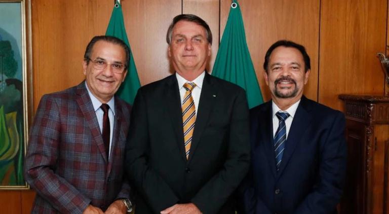 Líderes evangélicos registram encontro com Jair Bolsonaro