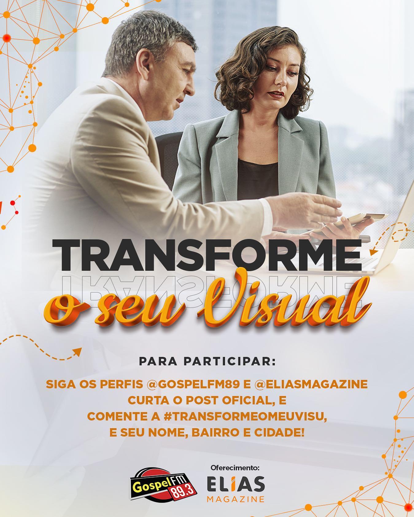 TRANSFORME O SEU VISUAL