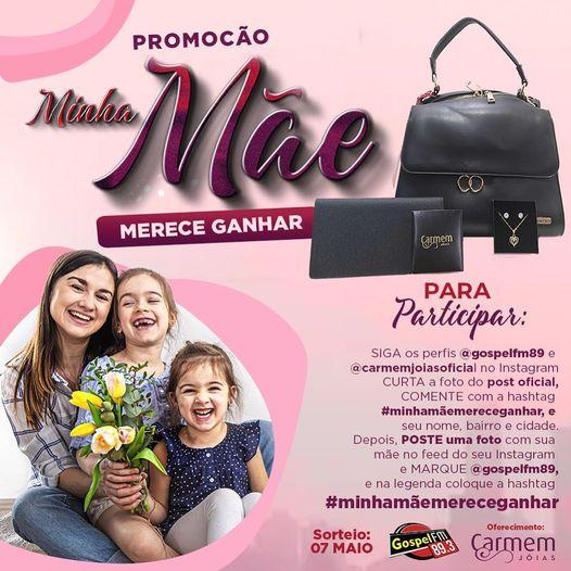 """MINHA MÃE MERECE GANHAR""!"